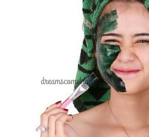 Masker Spirulina Tiens Asli
